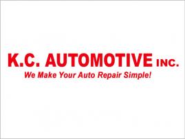 K.C. Automotive logo