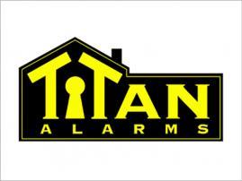 Titan Alarms logo